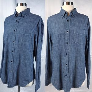 EUC Banana Republic Denim Button Down Shirt M